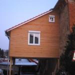 Douglasie Fassadenschalung