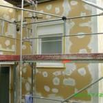 Objekt Haus i.d. Schweiz Komplettsanierung mit Gutex Holzweichfaserplatten/Dach + Aussenfassade + Putz