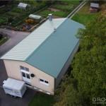 Bauvorhaben Mai 2011 - 220 m² Stahlsandwichelemente