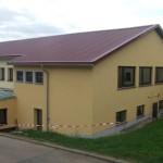 Stadthalle Alsenz - Stahlsandwichelemente 660 m²